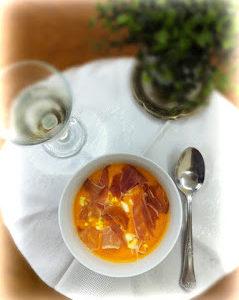 Salmorejo, sopa fria de tomate