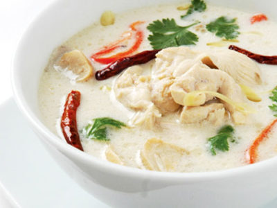 Receita: sopa tailandesa (tom kha)