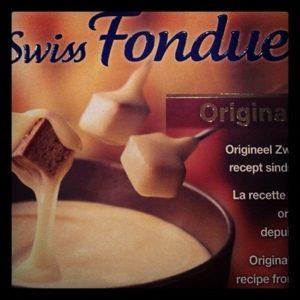 Receita: fondue de queijo com shitake