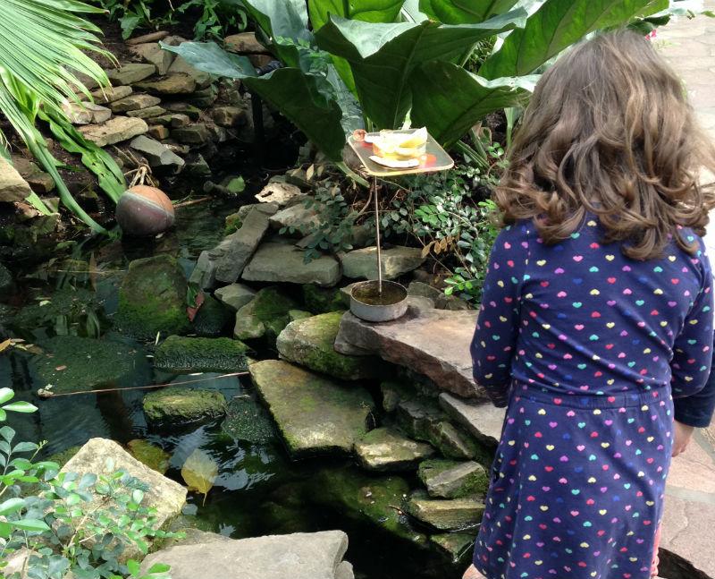 Vliendertuin, jardim de borboletas