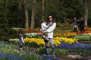 parque das tulipas em familia