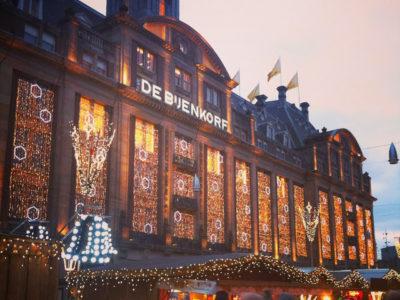 Feira de natal em Amsterdam
