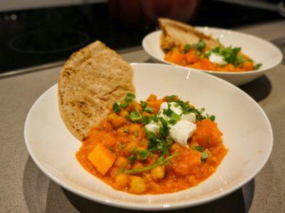 Curry de abóbora {para lamber o prato}