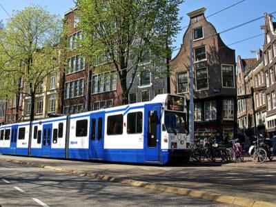 Sobre o transporte público em Amsterdam