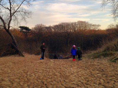 Kraantje Lek: entre dunas e bosque com as crianças