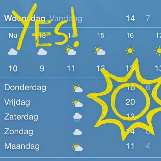 dia de usar saia na Holanda