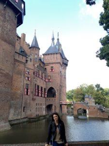 entrada do Castelo de Haar