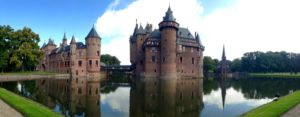 vista panorâmica do Castelo de Haar