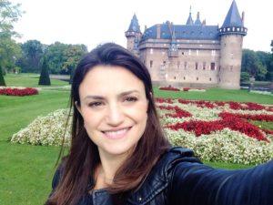 Ana no Castelo de Haar