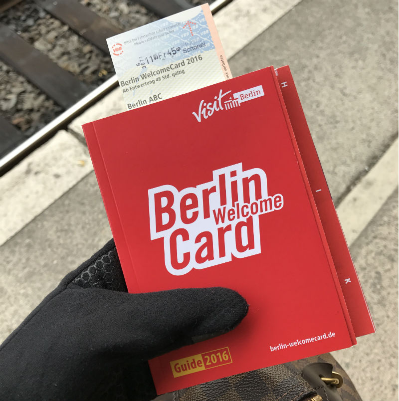Welcome Card Berlin