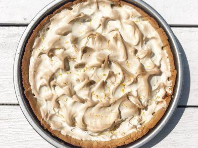 O teste da torta de limão – com receita