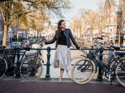 Fotógrafa brasileira em Amsterdam