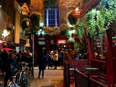 Dois dias em Dublin