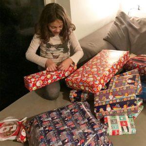 Julia e os presentes do Sinterklaas