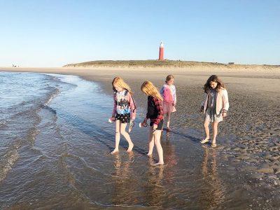 Final de semana na ilha de Texel