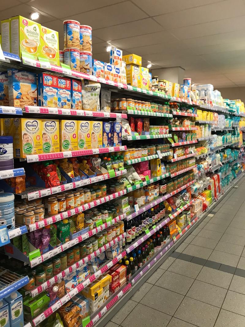 produtos para bebes no mercado holandês