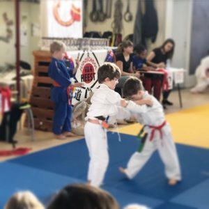 competição infantil de judo