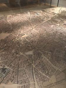 Maquete de Madrid