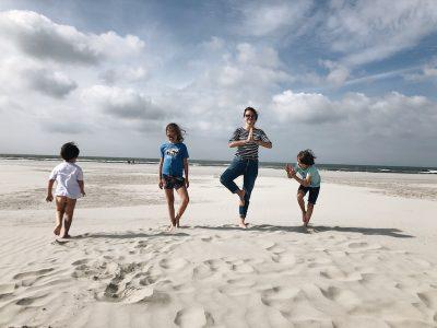 Feriado na ilha de Schiermonnikoog