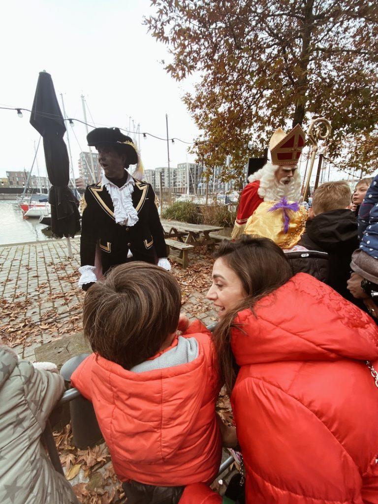 Chegada do Sinterklaas no nosso bairro