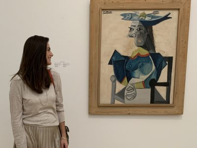 Visita ao Stedelijk, museu de arte moderna, e o encontro com Picasso