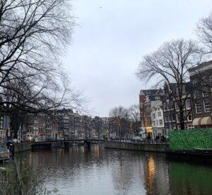 Amsterdam deserta: natal e lockdown