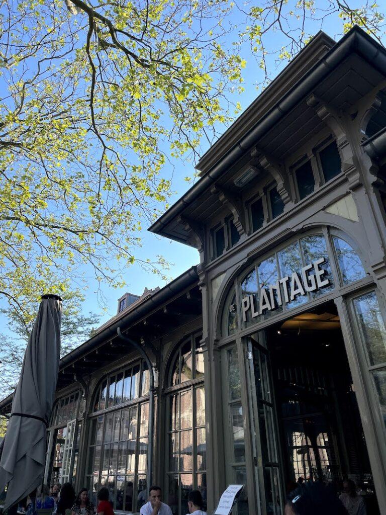Restaurante Plantage Amsterdam