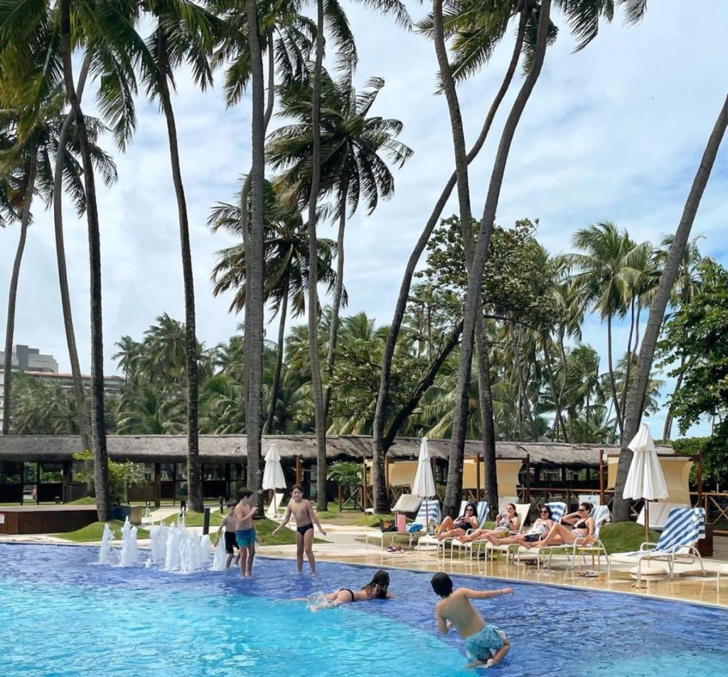 Resort Jatiuca em Maceió. Localização ótima e surto de virose.